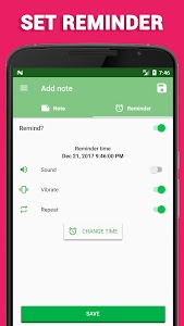 Voice notes - quick recording of ideas 8.5.2