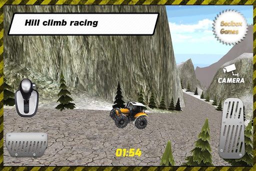 Tractor Hill Climbing