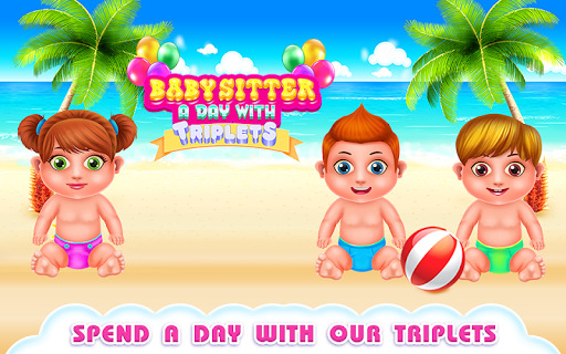 Babysitter a Day with Triplets 1.0.0 screenshots 1