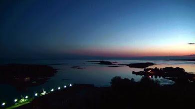 Photo: Вид на Белое море с Корожной башни