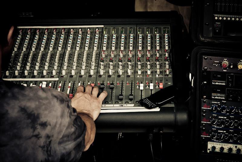 Photo: Mixing Board