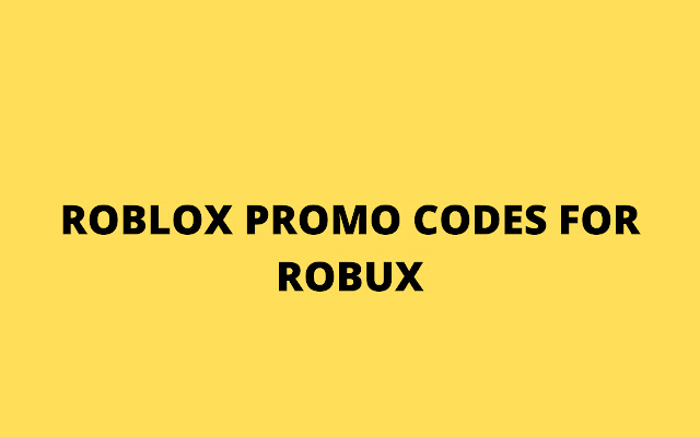 Free Robux Codes For Roblox 2020