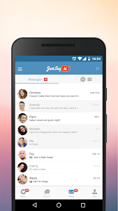 JustSayHi - Chat, Meet, Dating screenshot 4