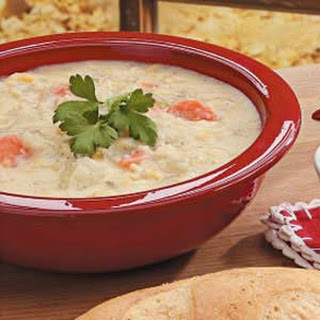 Parmesan Corn Chowder