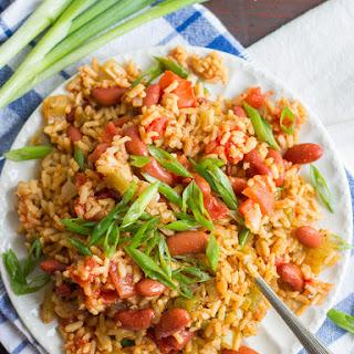 Vegan Jambalaya (Slow Cooker or Stove Top!).