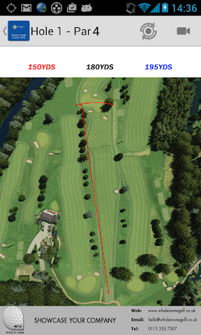 android Torwoodlee Golf Club Screenshot 2