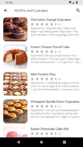 Baking Recipes 5.01 screenshots 2