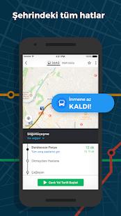 Moovit: Otobüs & Metro Bilgisi Screenshot