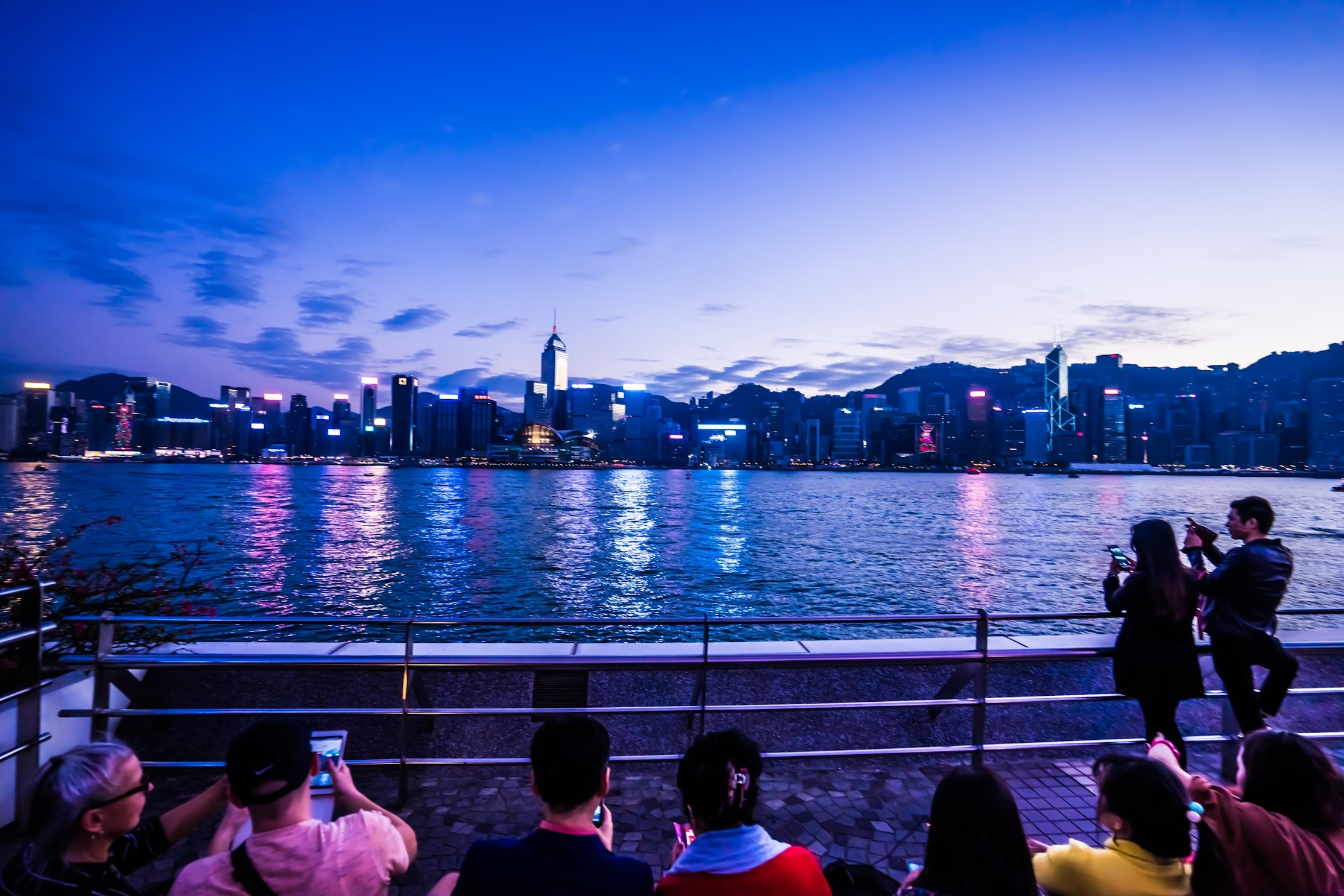 香港 尖沙咀 夕景3