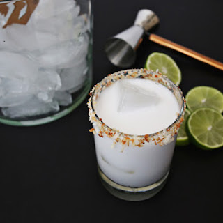 Toasted Coconut Margarita.