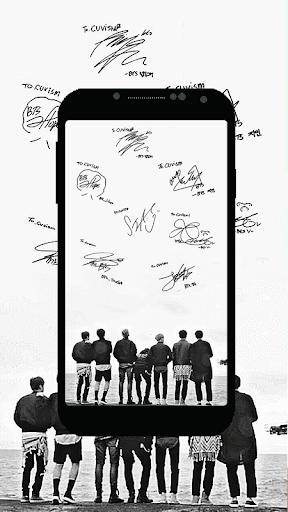 Fan Art Wallpaper of BTS 1.0 screenshots 3
