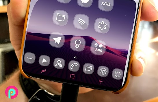 GlasS9      Theme Pack icons FullHD APK screenshot thumbnail 4
