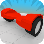 Hoverboard Racing Icon