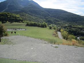 Photo: The top-landing area at Saint Vincent les Forts