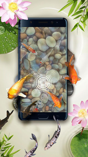 Download koi pond 3d live wallpaper for pc - 3d koi pond live wallpaper iphone ...