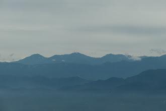 左から北岳・間ノ岳・農鳥岳など