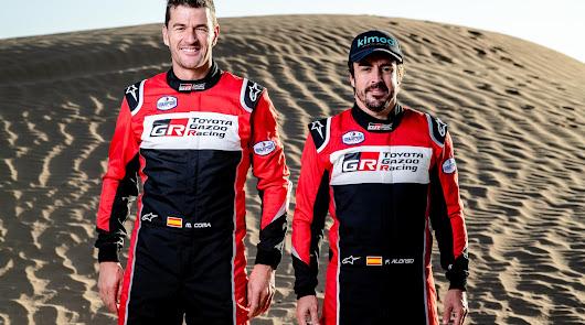 Toyota anuncia su equipo para el Rallye Dakar 2020 con Fernando Alonso