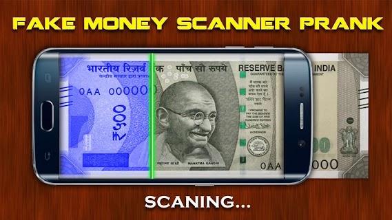 Fake Money Scanner Prank screenshot 02