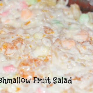 Marshmallow Fruit Salad.