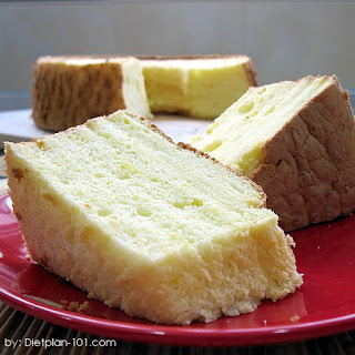 Gluten-Free Orange Chiffon Cake.