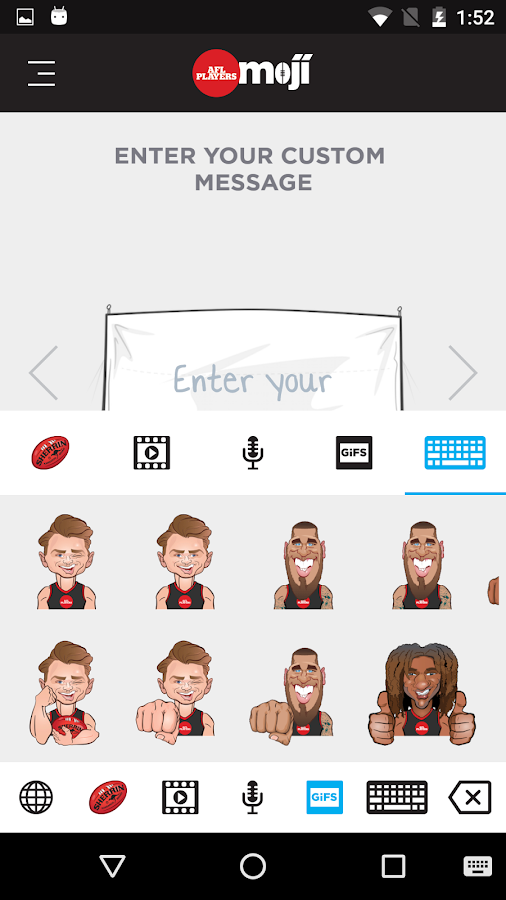 AFL Players Moji- screenshot