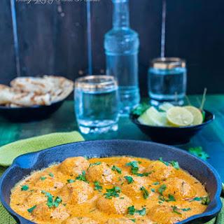 Malai Kofta / Indian Cottage Cheese Dumplings in a Creamy Gravy
