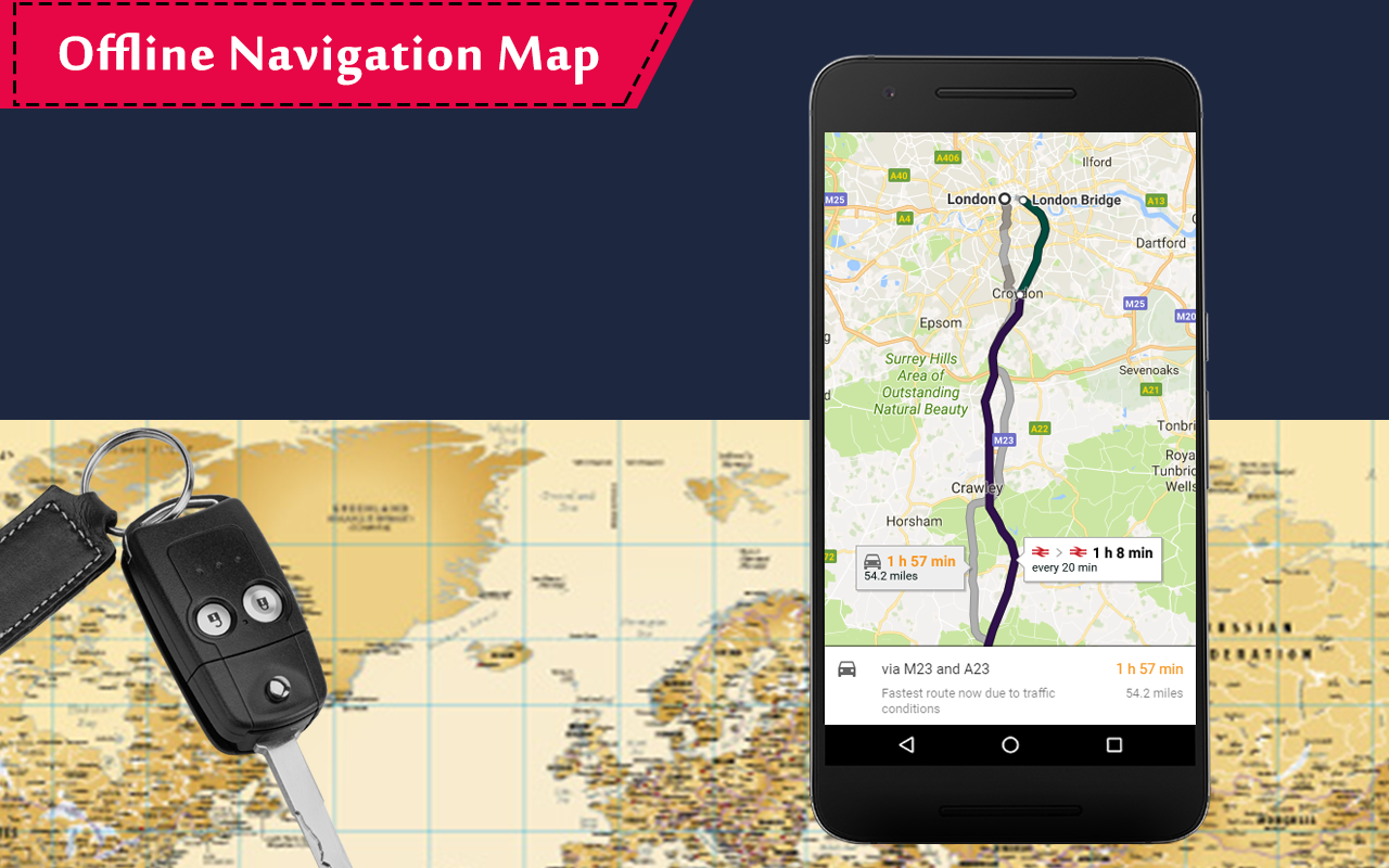 how to change route on google maps app android