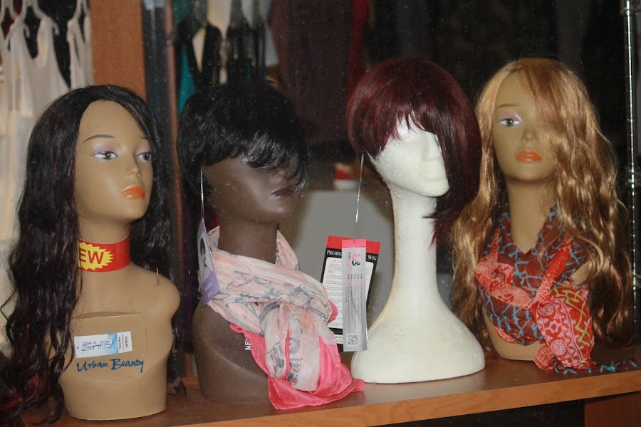 Store Window Wigs by Bonnie Burgeson - People Body Parts