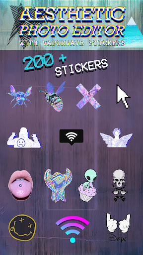 Aesthetic Photo Editor With Vaporwave Stickers By Creative Photo Studio Apps Google Play United States Searchman App Data Information