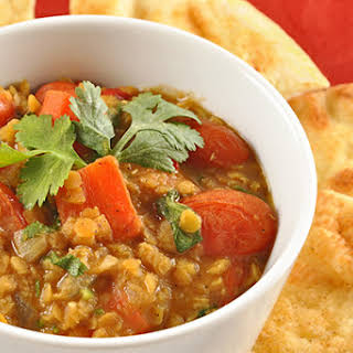 Coconut-Curry Red Lentil Stew.