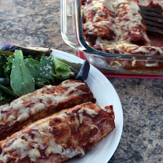 Homemade Vegetarian Enchiladas