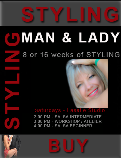 Man Lady Style - Hot Latin Salsa Dance Courses Montreal, LaSalle Classes
