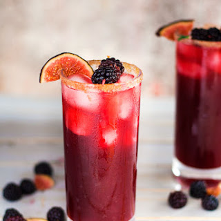 Blackberry, Cinnamon and Fig Margaritas
