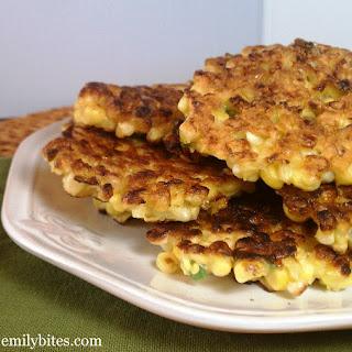 Crispy Corn Fritters.