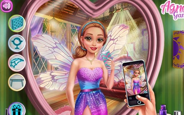 Fairy Insta Selfie Game