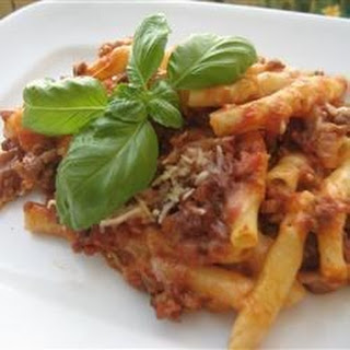 Baked Ziti With Cottage Cheese Recipes