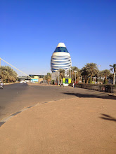 "Photo: ""Gaddafi's Egg"" , Corinthia Hotel Khartoum"