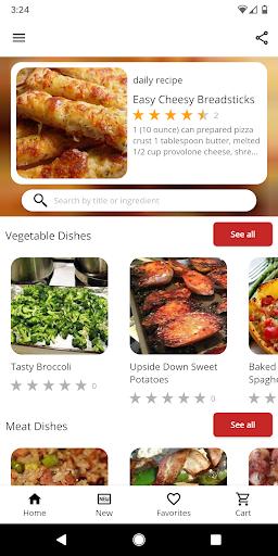 Oven Recipes 5.19 screenshots 1