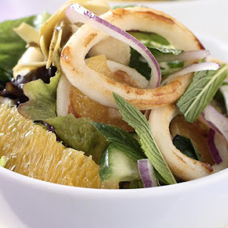 Calamari and Orange Salad