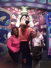 Photo: Goofy gives lots of love. this is taken at Epcot