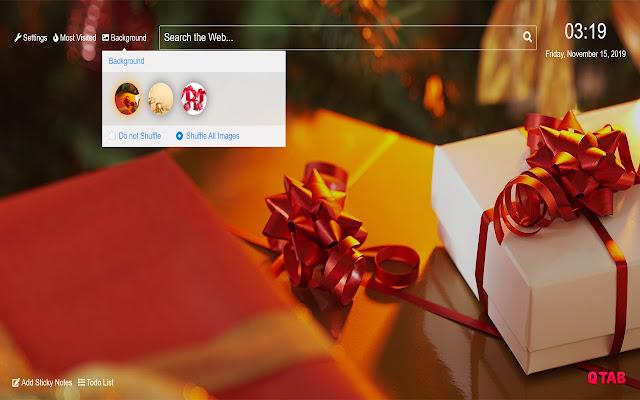 Christmas Gift Wallpapers Hd New Tab