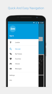 Ticketmaster UK Event Tickets- screenshot thumbnail