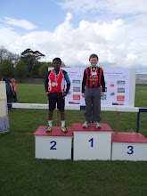 Photo: Jack Ryan, Moycarkey Coolcroo A.C., winner of Boys U/13 Shot Putt at St. Lawerence O'Toole Sports 2012.