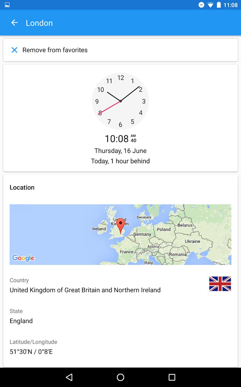World Clock by timeanddate.com Screenshot 18