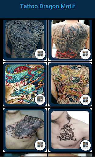 Tattoos Dragon Motif