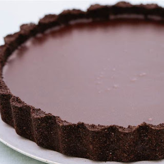 Nigella's Decadent Salted Chocolate Tart Will Be A Party Hit