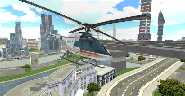 Police Helicopter Pilot 3D- screenshot thumbnail