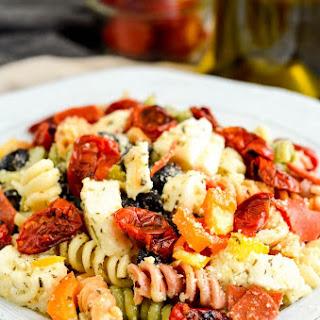 Pasta Salad with Homemade Dressing Recipe