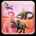 Dinosaur Photo Booth Stickers icon