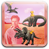 Dinosaur Photo Booth Stickers